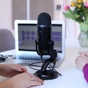 Mikrofon für Interviews